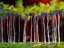 Birches 4 #92934
