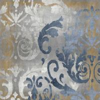 Damask in Silver and Gold I #ELR114975