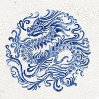 Chinese Porcelain II #EW476-A