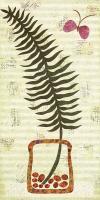 Fern Fond in Vase 2 #72427