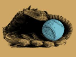 Baseball and Glove - Recolor #102799