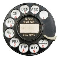 Rotary Dial #87372