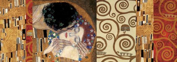 Klimt Deco (The Kiss) #GK2159