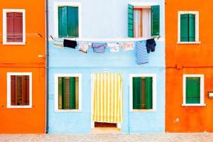 Burano Blue Stripes #90668