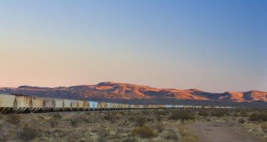 Freight Cars, Trona, CA #91640