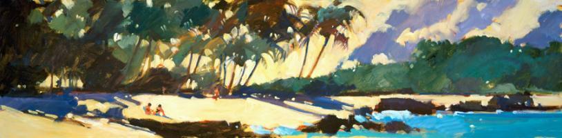 Morning Shadows on the Beach #87597