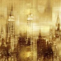 NYC - Reflections in Gold II #KC112671