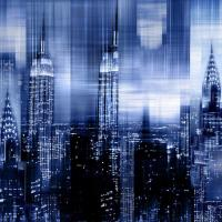 NYC - Reflections in Blue II #KC112673