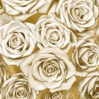 Ivory Roses on Gold #KTB113447