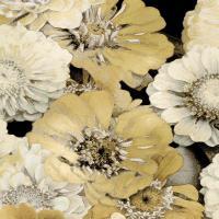 Floral Abundance in Gold I #KTB115116