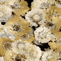 Floral Abundance in Gold IV #KTB115119