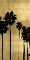 Palm Silhouette on Gold I #KTB115124