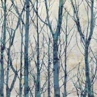 Through The Trees - Blue I #KWB111787