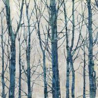 Through The Trees - Blue II #KWB111789