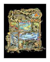 Shadowbox Hunt -Reptiles, Fish #LE111343
