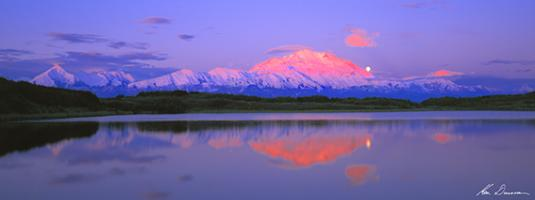 Sunrise, Denali National Park, Alaska USA #MLKD028
