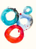 Watercolor Oval 3 #101998