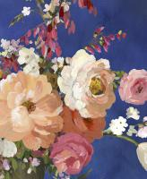 Midnight Garden Flowers I #PS326-A