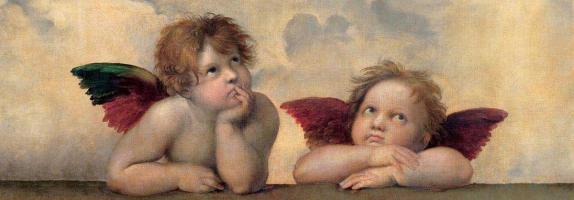 Angeli - Madonna Sistina #RAF3118