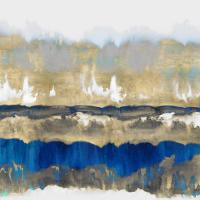 Gradations in Blue & Gold #RE112689
