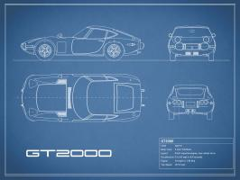 Toyota GT2000-Blue #RGN112790