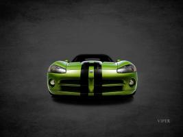 Dodge Viper Green #RGN114412