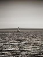 USA, Seattle, sailboat in Elli #SK113992