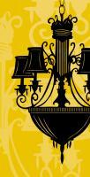 Chandelier 2 Yellow #76027