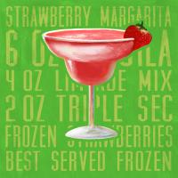 Strawberry Margarita (square) #89587