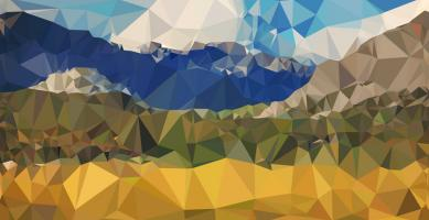 Faceted Valley #100591