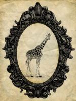 Framed Giraffe #89754
