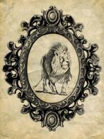 Framed Lion #89755