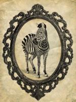 Framed Zebra #89757