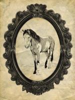 Framed Paint Horse #89762
