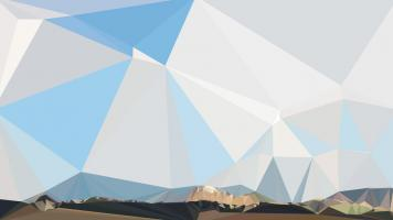 Fractal Mountain Horizon #98787