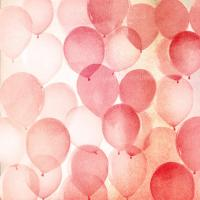 Vintage Red Balloons A #92084