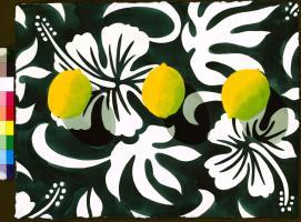 Three Lemons - Tropicalia Black #82564