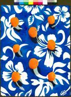 Eight Oranges - Tropicalia Blue #82565