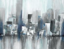 Cityscape in Blues #URID-748-ALT-V1