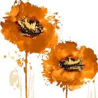 Flower Burst in Mandarin I #VAU113491