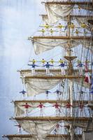 Men in Tall Ship Mast  #92223