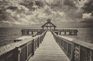 Sepia Pier #92241