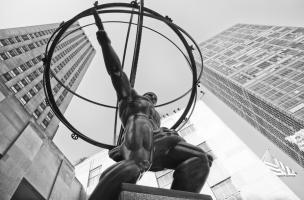 Atlas Statue Rockefeller Center #92337