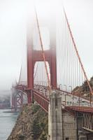 Golden Gate Bridge in Fog  #92383