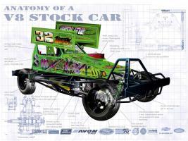 Anatomy V8 Stockcar #YS114454
