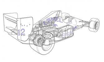 F1 Judd - Camel #YS114474