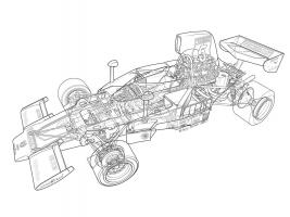 1974 Lola T332 - F5000 Andretti #YS114960
