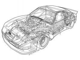 1985 Roush Protofab Ford Mustang GTO #YS114961