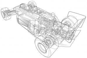 1986 Lotus Renault 98T-3 #YS114962