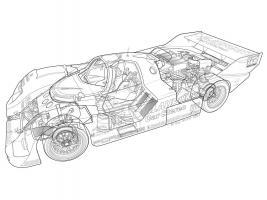 1986 Porsche 962 #YS114963